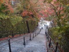 雨が小雨になって来たので、清水寺から逃げ出しました。