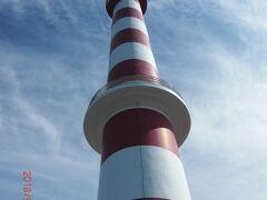 ノシャップ岬にある稚内灯台です
