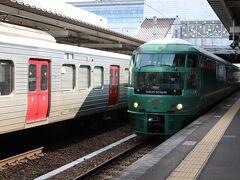 豊肥本線に乗れなくても、これに乗れるならいいや。 そう、ゆふいんの森号です!  JR九州の観光列車を語る上で外せない有名&人気列車。私も1度は乗ってみたかったヤツです。