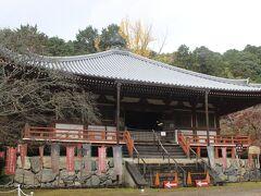 醍醐寺の奥にある観音堂。