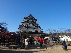 彦根城  大蔵省は登らないかと 予想してたが 頑張って登りましたね
