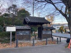 旧西川家潜り門