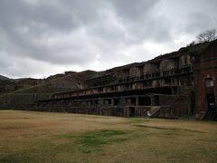 北沢浮遊選鉱場跡。 雨が降ってきてゆっくりできなかったけど、こうゆう産業遺跡はキュンキュンする!