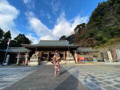 京都霊山護国神社。 幕末維新の志士たちが祀られているそうです
