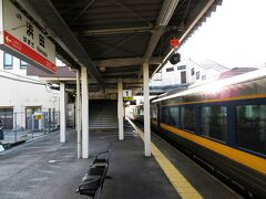 浜田14:36着。 これで、山陰本線の出雲市~波子は初乗車。