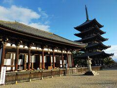 続いて興福寺。東金堂と国宝堂連帯共通券を買ってまず東金堂から。パンフレットを見ながら十二神将を一つ一つ確認して見ました。十二神将の名前ってキラキラネームっぽいな、とか思ったり。こちらも聖武天皇が造立。本当に仏教への信仰が篤かったんだな。