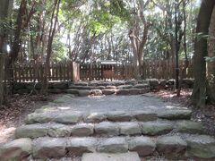 古代祭祀の跡「高宮祭場」に着きました。 秋季大祭の最終日には神奈備祭など重要な祭祀が行われています。