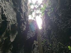このあと、とある時間まで余裕があったので、  再度、バリバリ岩を満喫