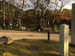 知恩院三門を背にして左側から 円山公園へ入ります