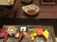 和順会館の懐石料理です  プランに夕食は付いていなかったので メールで予約していました ひとり6200円