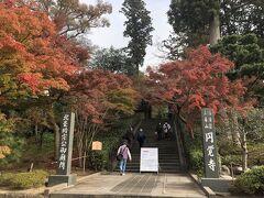 駅からすぐ、円覚寺。