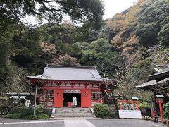 荏柄天神社の本堂。