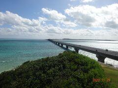 池間島から今渡ってきました池間大橋を撮影しました