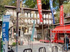 歩いて櫛田神社へ。