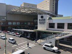 長崎のホテル、JALシティをチェックアウトし、市電に乗って長崎駅へ向かいました。
