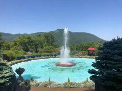 箱根強羅公園の噴水池。
