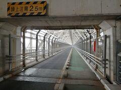 12:13 今回の旅の最初の橋の因島大橋を渡ります。予定ではこの時間は因島のカフェで休憩している予定でしたがまだ向島です