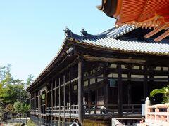 続いて豊国神社に入ります。(神社にしては珍しく有料) 千畳閣と言われるだけに、とても広い拝殿(多分)です。