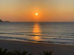 伊豆下田市の静かで日本有数の美しい水質AAのビーチ入田浜の宿 濤亭(とうてい)の2泊目の朝・・・