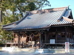 焼津駅から歩いて焼津神社まで来ました。