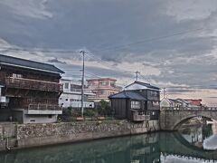 堀川運河、江戸時代に飫肥藩が飫肥杉運搬のために作った運河。