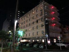 今宵の宿「くれたけイン焼津駅前」 焼津の駅前にあります。