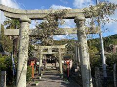 今回もレンタカーはホンダのN-Box。ニックネームは、えぬぼ~君。  でやって来たのは、富来神社。