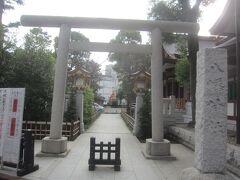 商店街からちょっと道を逸れて・・・ 八幡神社へ