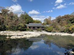 チェックアウトして近くの楽寿園という公園に行ってみました。