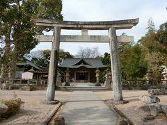 帰りに松江神社にお参り。