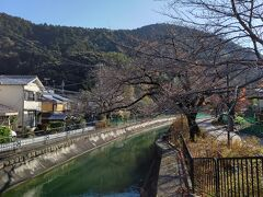 JRに乗って、隣の山科駅へ そこからは緩い上り坂、思った以上に暑い(笑) 春はとってもきれいな疎水を通過
