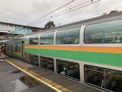 仕事終え、大船経由で15時過ぎに根府川駅に到着。  ちょい肌寒い気温で。
