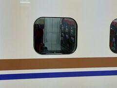 出発30分前に駅に着いてロッカーに預けていた荷物を取ってホームに向かいます。