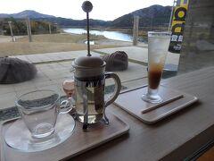 年縞博物館の絶景カフェでお茶