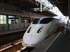 昨日はちょっと強行軍だったので、今日はゆとりをもって11時台の「つばめ」で熊本へ。  とはいえ、各駅停車の「つばめ」でも同じ11時台には熊本に着いちゃうんだから、やっぱり新幹線は早い!