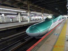 東北新幹線が入線しました。