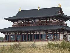 奈良時代に こんな大きな建物 建てたんだ  中に高御座がある建物です