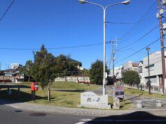 竜神大吊橋からバスで常陸太田駅へ戻ります。 途中、常陸太田の市街地で途中下車します。