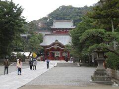 鶴岡八幡宮。敷地が広い。
