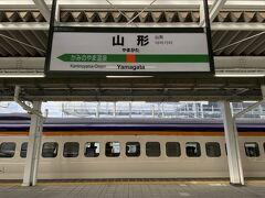 10:06に山形駅に到着です。