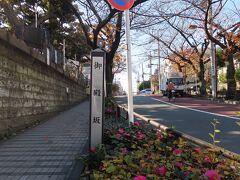 日暮里の駅でJRと京成線の線路を越え  山手線の内側へ  根岸から 谷中側に抜けてくると  そこは 「御殿坂」