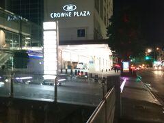 ホテル(クラウンプラザ)はスカイタワー近くの便利な中心部にあり便利です