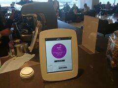 オークランド空港のニュージーランド航空のラウンジにはオーダーコーヒーの自動受付機あり、これは素晴らしいシステムでした。あっという間に一週間が過ぎ、成田経由で帰宅となりました。