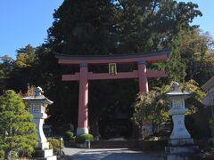 次に向かった先は、富士山世界遺産の構成資産のひとつ河口浅間神社