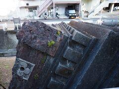旧浦上天主堂の被害を物語るものとされています。