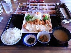 宮崎名物 チキン南蛮定食(1280円・税込み) ボリュームたっぷりでお腹いっぱいです。 おいしかった!