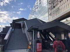 まずはホテルに、リュックを預かってもらいに行きます。この日はちょうど、駅連結のミナカ小田原オープン日です。