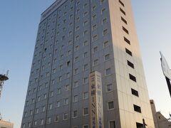 東横イン対馬厳原。対馬で1番の高層ビルです。14階建て。