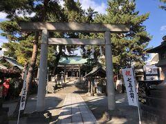 さらにこちら、松原神社参拝。