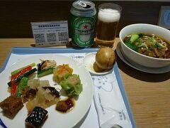 帰りもKKDAYの送迎タクシーで桃園空港へ。 牛肉麺もいただきました。 どれも美味しかったです。